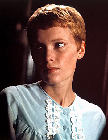 Rosemary's Baby Mia Farrow Hair Cut http://www.bornforgeekdom.com/2011/02/eight-short-hair-inspirations-from-film.html