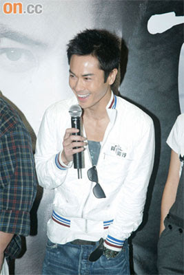 Kevin Cheng at Last One Standing Promo