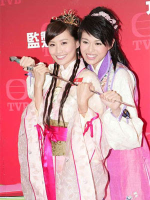 Myolie Wu and Fala Chen