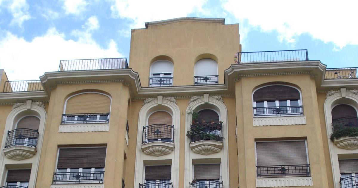 Madrid art dec plaza de chamber 9 for Arquitectura franquista