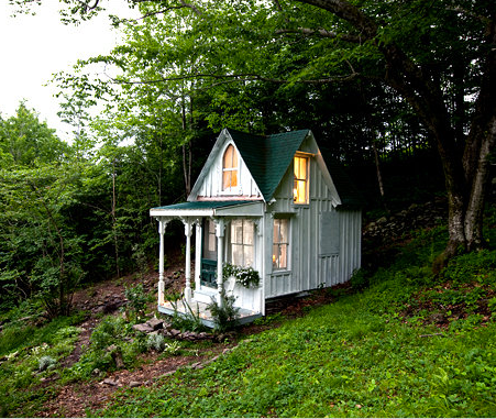 Gypsymade Teeny Tiny Victorian House