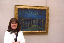 Me and Vincent, Musee D'Orsay, Paris