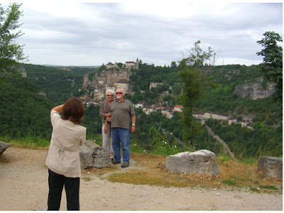 Rocamadour in the Dordogne Valley