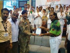 Presented to shield Ch. Guest Col Saleem Taqi