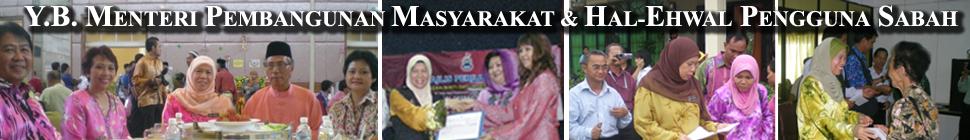 Y.B. Menteri Pembangunan Masyarakat dan Hal-Ehwal Pengguna Negeri Sabah