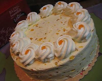 Mango Cream Cake from Red Ribbon