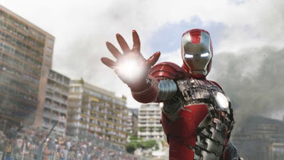 Robert Downey Jr. saves the day in IRON MAN 2