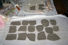 Clay pieces