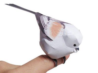 Bird papercraft