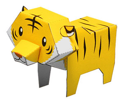 paper tiger for kids