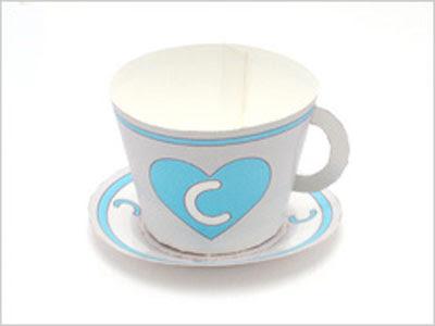 tea cup papercraft