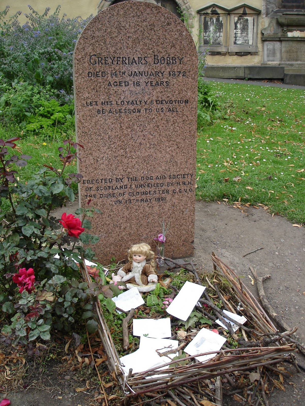 Where is Matron buried 14