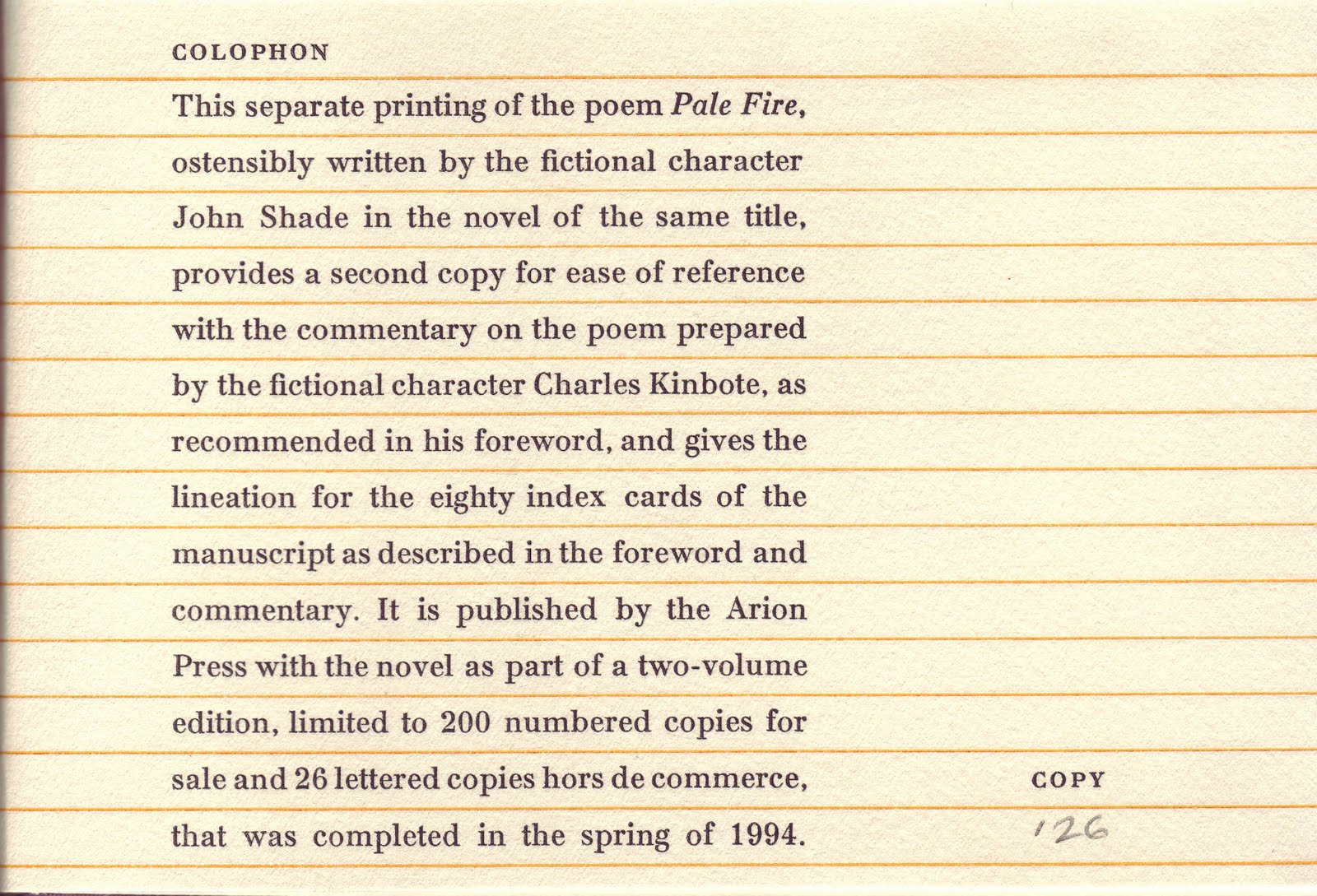 ron rosenbaum at slate is wrong about nabokov s pale fire ron rosenbaum at slate is wrong about nabokov s pale fire