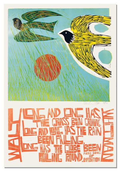 BOOKTRYST: Stunning Posters Celebrate Walt Whitman