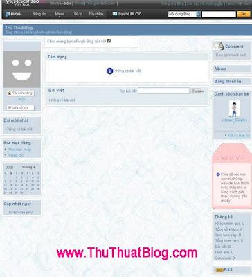 Hướng dẫn sử dụng Yahoo! 360 Plus  2giaodien