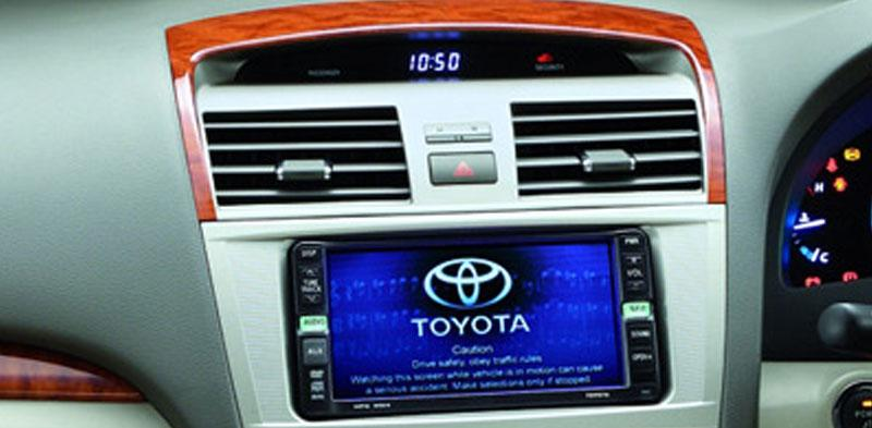 Aksesoris Toyota All New Camry 2011