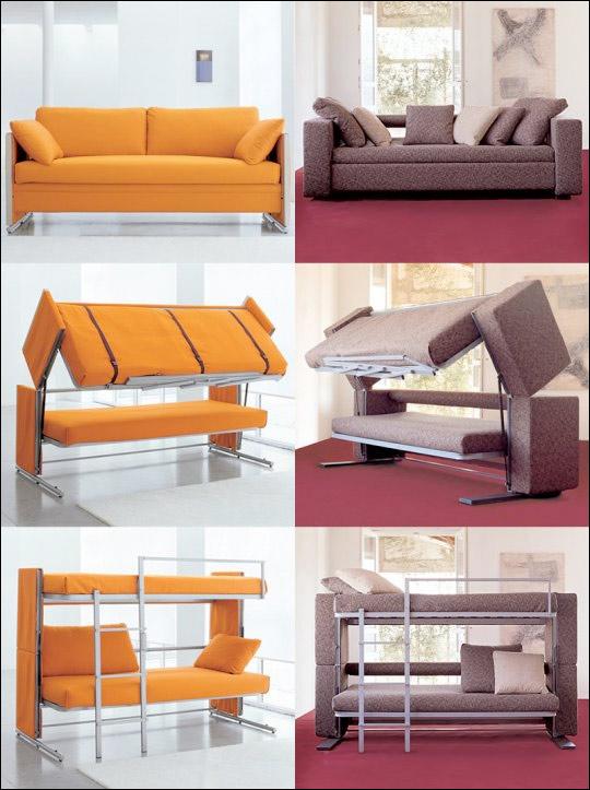 Lara fotos boa id ia do dia um sof para pequenos for Sofa que vira beliche