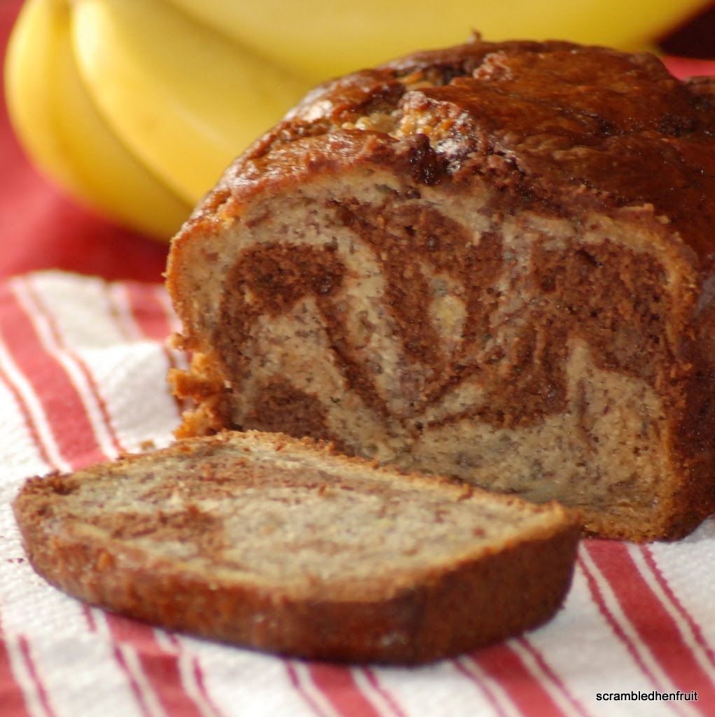 Scrambled Henfruit: Marbled-Chocolate Banana Bread ...