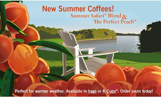 Summer Discount K-Cup Coffees; Summer Safari and Perfect Peach