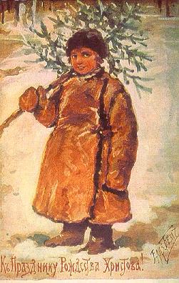 Starinnyye-Rozhdestvenskiye-otkrytki