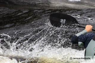 descente en eau vive