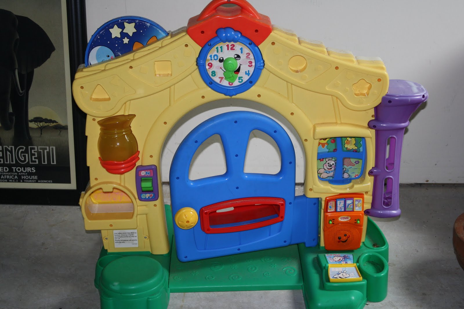 The Likes Of Mable And Sally Fisher Price Front Door Kiddo Plaything