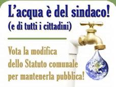 Vittoria per l'acqua pubblica al comune di L'Aquila