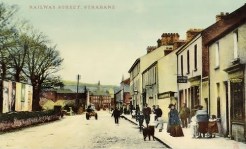 Strabane Railway Street 1900
