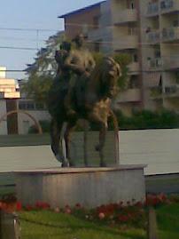 A caballo de día