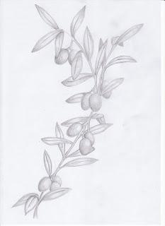 rich williams design olive branch tattoo. Black Bedroom Furniture Sets. Home Design Ideas
