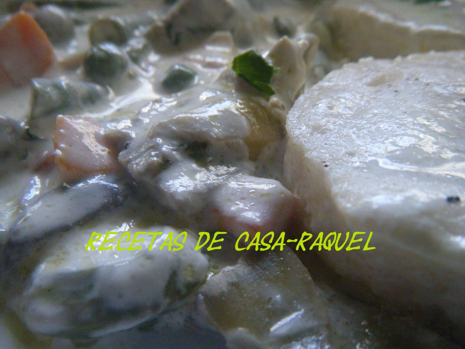 Recetas de casa raquel merluza con menestra microondas - Cocinar pescado en microondas ...
