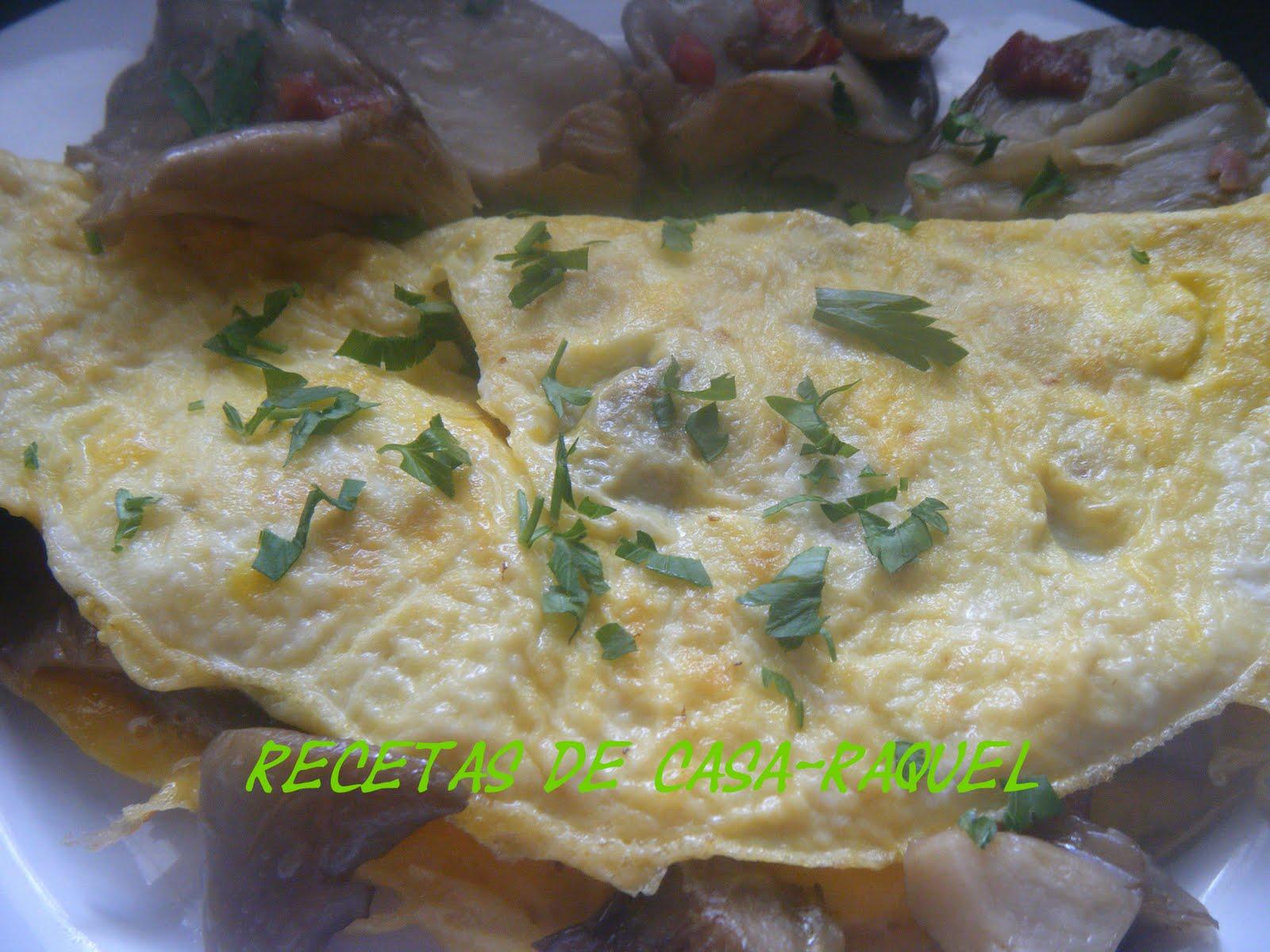 Tortilla con setas recetas que nunca fallan for Como se cocinan las setas