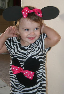 The G Eous Birthday Girl  Trying On Her Minnie Ears And In Her First