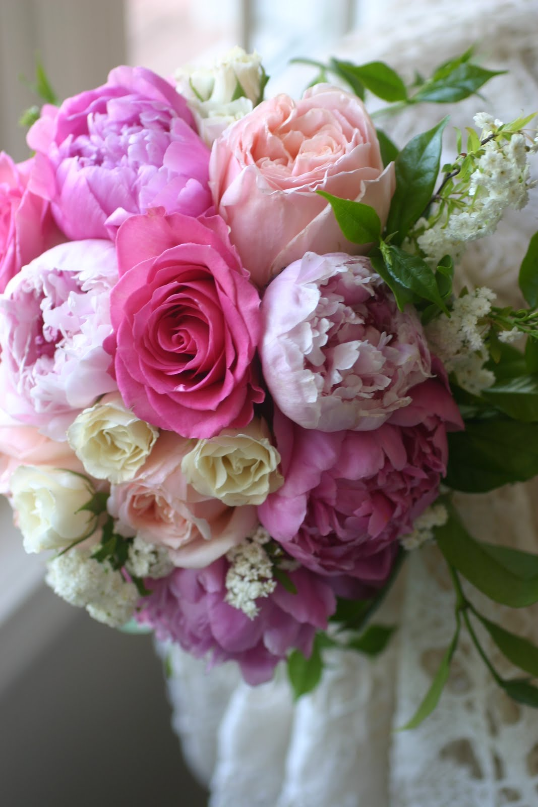 Bridal Bouquets With Cabbage Roses : Pam roberts wedding event floral pensacola orange beach
