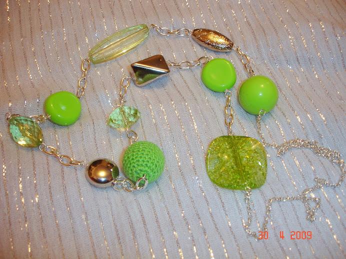 Verde / prata