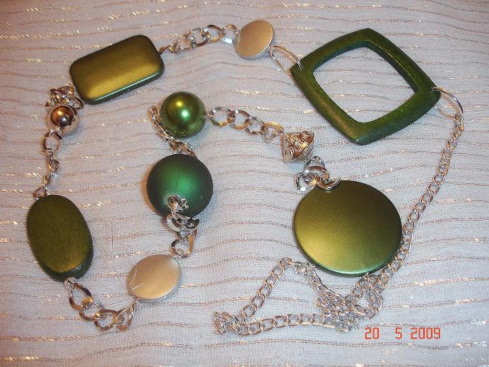 Verde/Prata