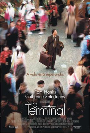 Filme Poster O Terminal DVDRip XviD & RMVB Dublado