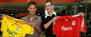 Krisztian Nemeth Andras Simon Hungarian Liverpool young strikers
