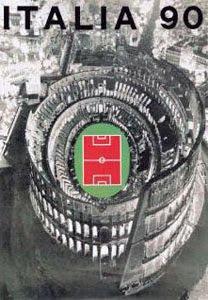 Afiche Italia 1990