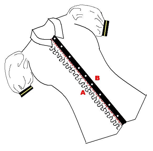 Blusa para colorear - Imagui