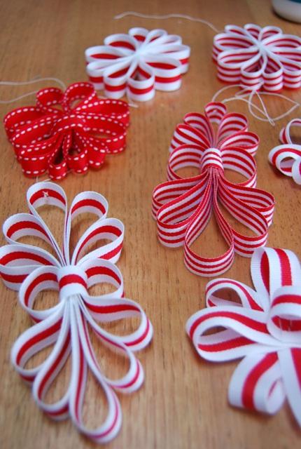 Tania Mccartney Blog Ribbon Christmas Ornaments