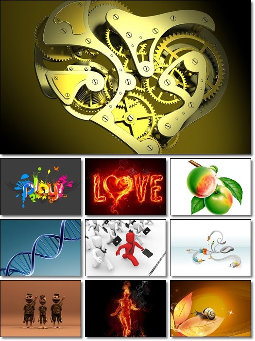 cool wallpapers. 3D Style Cool Wallpapers Pack