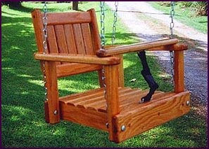 Homemade porch swing plans pdf woodworking for Child swing plans free