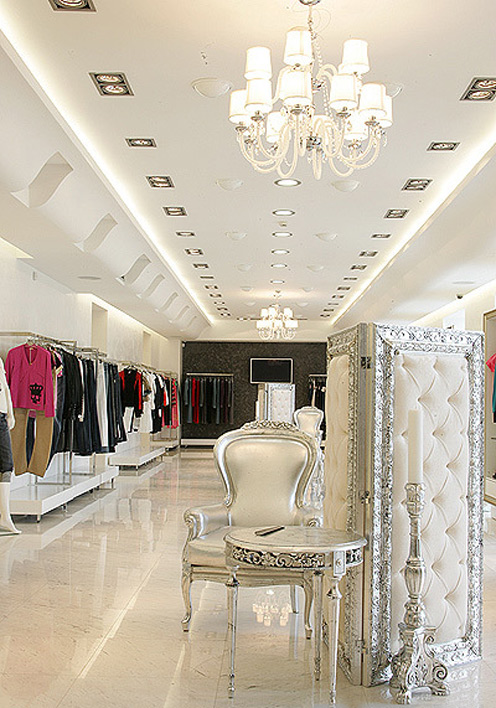The truly impiana for Interior designs of boutique shops