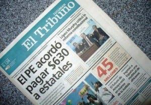 Los trabajadores del diario El Tribuno de Tucumán comienzan con medidas