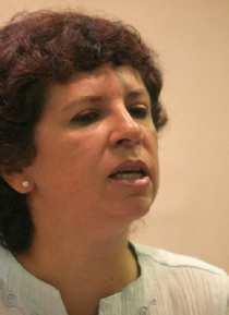 Clarisa Alberstein sobre Bussi: ''fue condenado por crímenes de lesa humanidad, y traición a la patria''