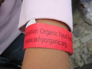 Organic Food Festival tag
