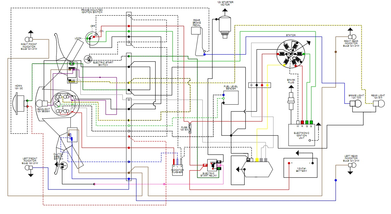 Lml Scooter Motor Wiring Diagram Electrical Diagrams Vespa Excel Modern Will This Work Library Of Gas