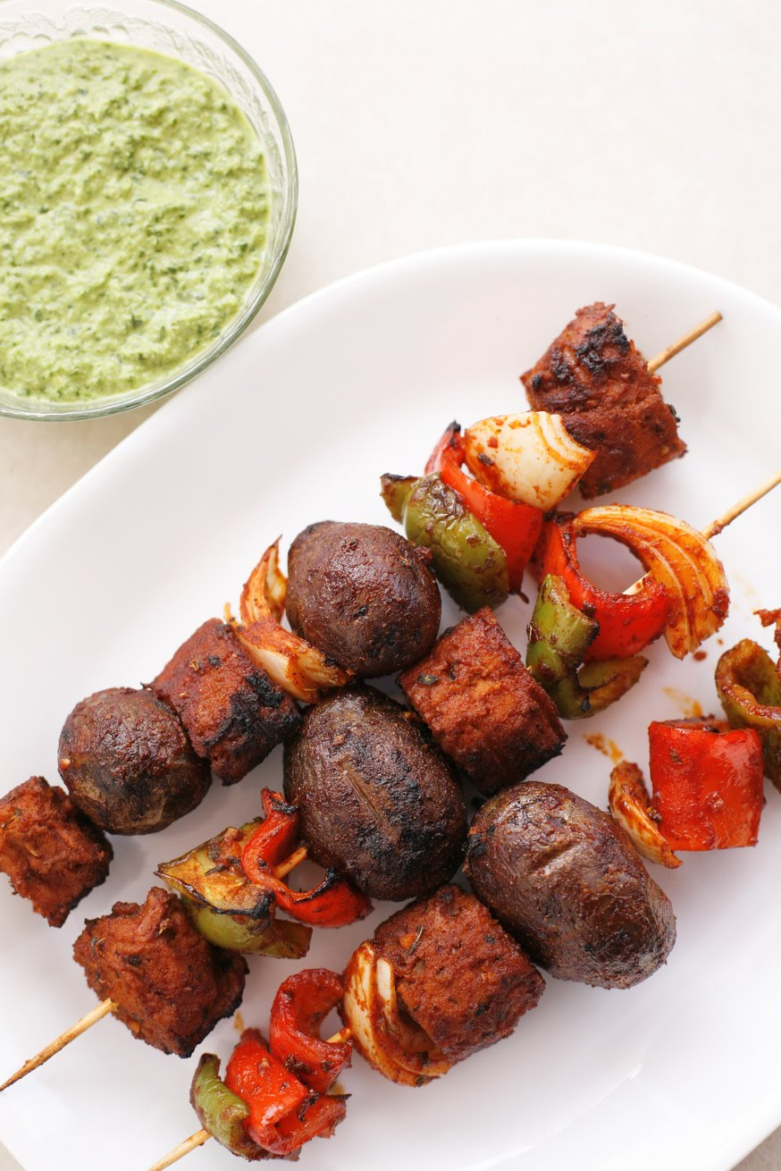 go vegan meow peruvian seitan and potato skewers