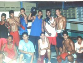momentos cuando me iniciaba en el boxeo junto con patrick lopez y mi entrenador jonny calderones